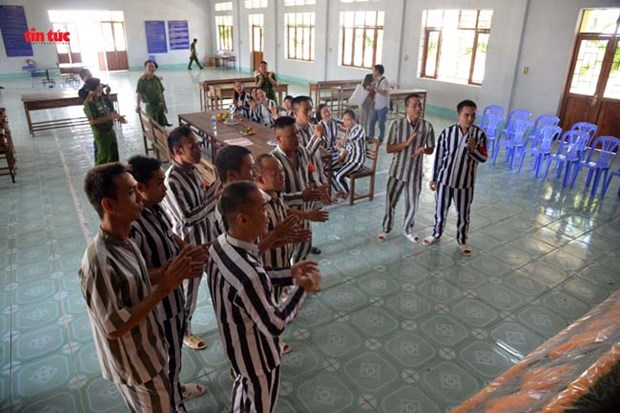 Life-changing opportunities come to foreign prisoners hinh anh 1