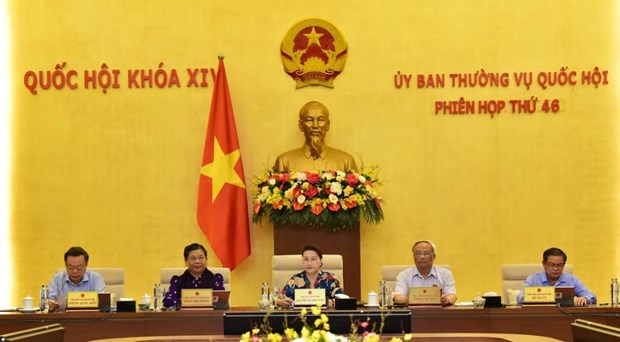 NA Standing Committee approves reduction of environment tax on jet fuel hinh anh 1