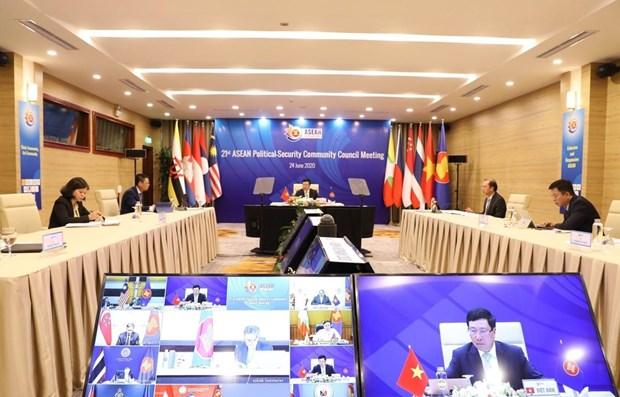 Vietnam leaves deep imprint during 25 years of ASEAN membership hinh anh 1