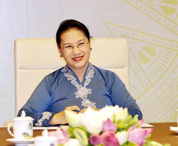 Top legislators of Vietnam, New Zealand hold online talks hinh anh 2