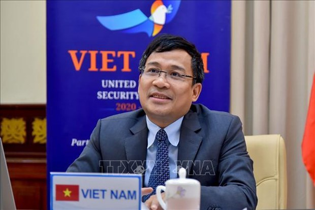 Vietnam ready to cooperate in combating terrorism: diplomat hinh anh 1