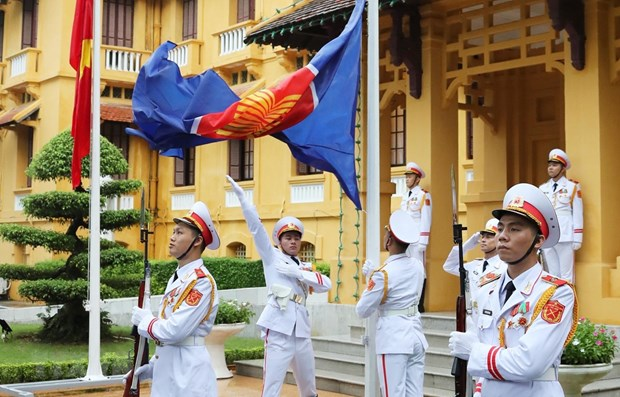 ASEAN FMs' statement on maintaining peace and stability in Southeast Asia hinh anh 1