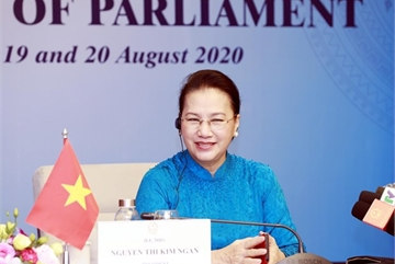 NA Chairwoman Nguyen Thi Kim Ngan attends fifth World Conference of Speakers of Parliament