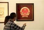 Original sketches of Vietnam's national emblem on show
