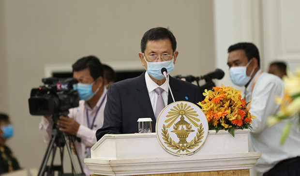 Vietnam-Cambodia border topographic maps to be sent to UN hinh anh 1