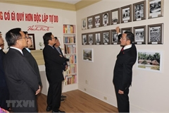 Showroom of President Ho Chi Minh inaugurated in Canada