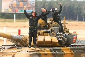 Vietnam gains outstanding results at 2020 Army Games