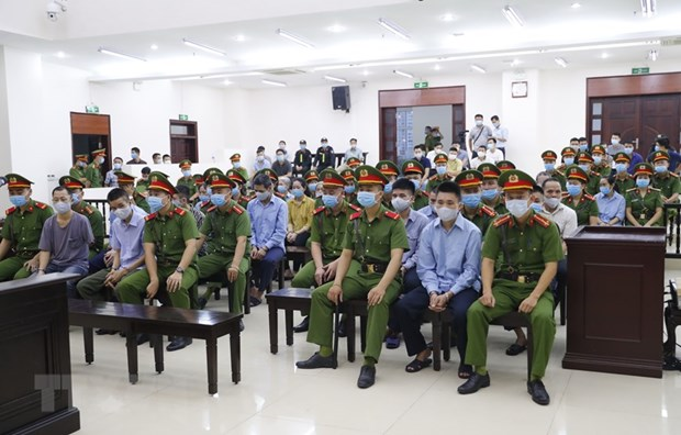 Trial begins for policemen murder case in Dong Tam hinh anh 1