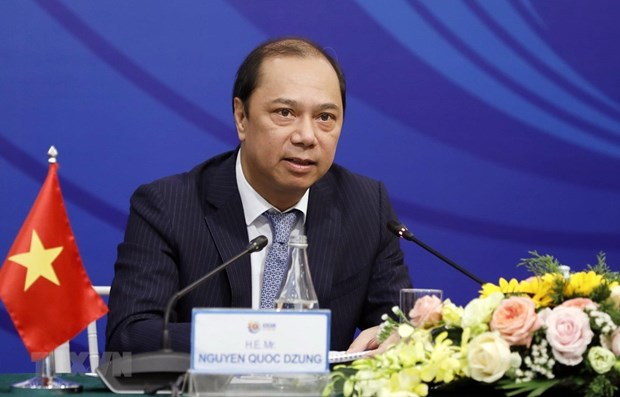 Deputy FM talks agenda for 53rd ASEAN Foreign Ministers' Meeting hinh anh 1