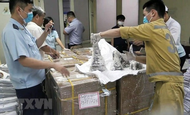 One man charged in biggest ever rhino horn smuggling case hinh anh 1