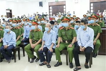 Dong Tam case: four defendants admit guilt in resisting on-duty officers