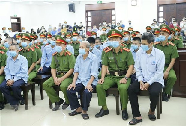 Dong Tam case: four defendants admit guilt in resisting on-duty officers hinh anh 1