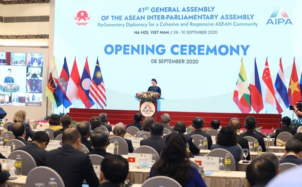 41st General Assembly of ASEAN Inter-Parliamentary Assembly opens hinh anh 2