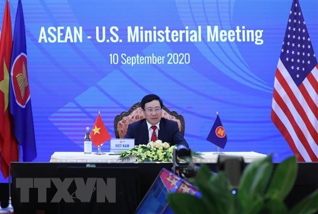 AMM 53: ASEAN-US Ministerial Meeting held virtually hinh anh 1