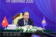 Joint Communiqué of AMM 53 acknowledges Vietnam's initiatives, proposals in 2020