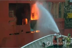 Fire breaks out on vessel in RoK waters with 10 Vietnamese on board