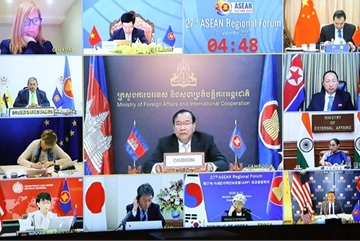 AMM 53: Cambodia reiterates stance on East Sea issue