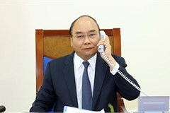 Vietnamese PM, German Chancellor hold phone talks