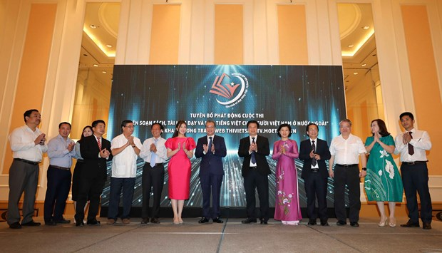 Contest launched promoting Vietnamese language teaching for overseas Vietnamese hinh anh 1