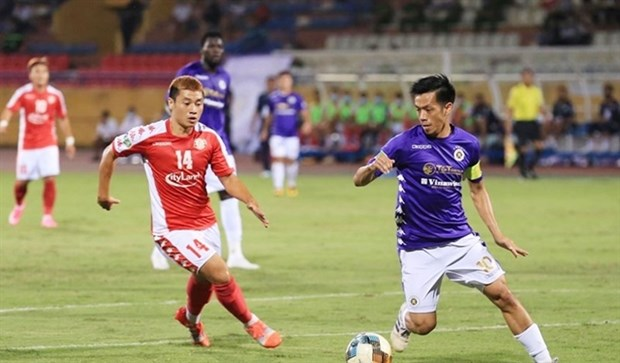 Hanoi FC successfully defend National Cup hinh anh 1