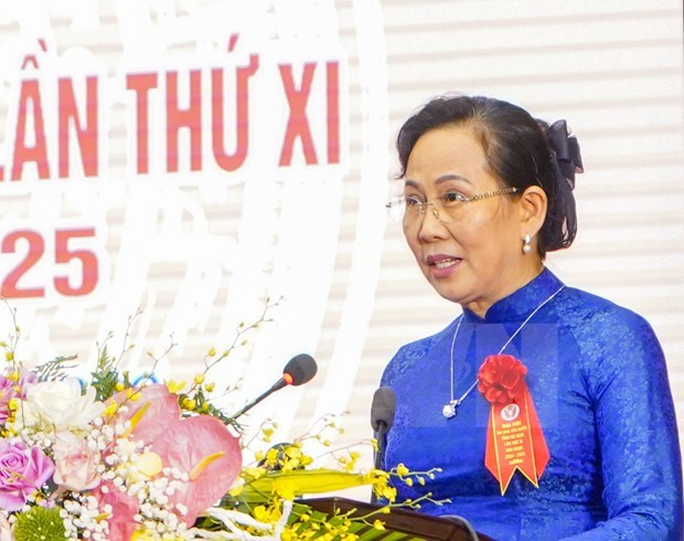 Le Thi Thuy reelected as Secretary of Ha Nam Party's Committee hinh anh 1
