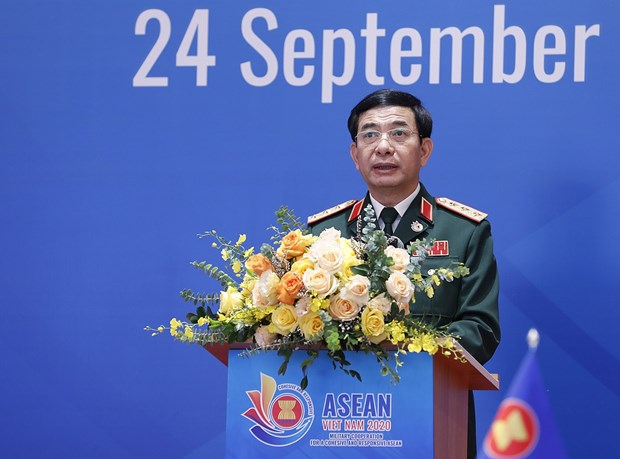 ASEAN chiefs of defence forces gather at online 17th meeting hinh anh 1