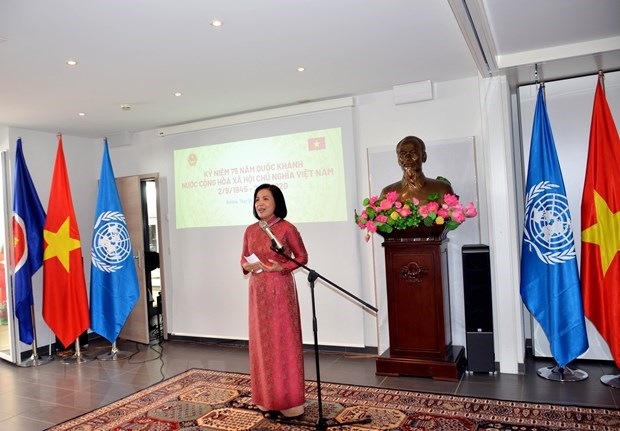 Vietnamese abroad urged to make more contributions to homeland hinh anh 1