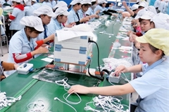 Foreign capital still heads to manufacturing, processing