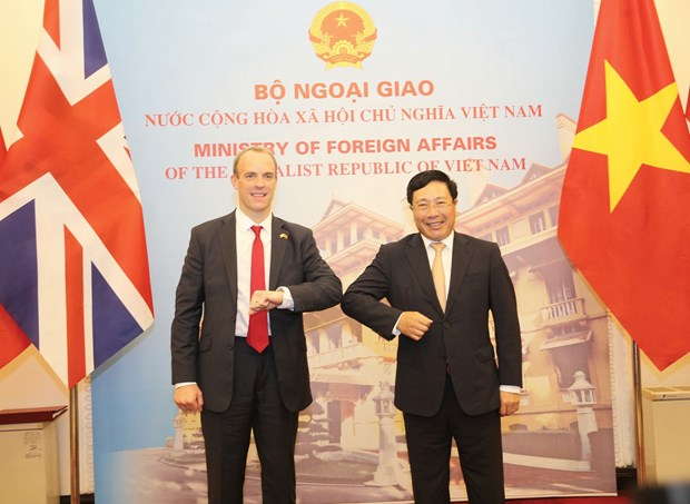 Vietnam, UK to develop strategic partnership to higher level: officials hinh anh 1