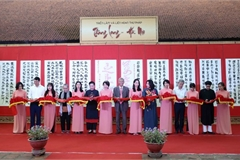 Calligraphy exhibition marks 1,010th anniversary of Thang Long-Hanoi