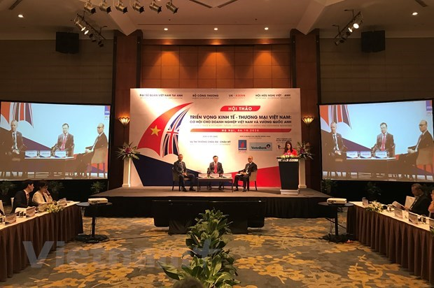 Negotiations on Vietnam-UK FTA expected to be completed late this year hinh anh 1