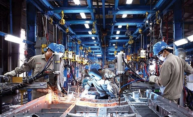 Local manufacturing industry enjoys solid growth in September hinh anh 1