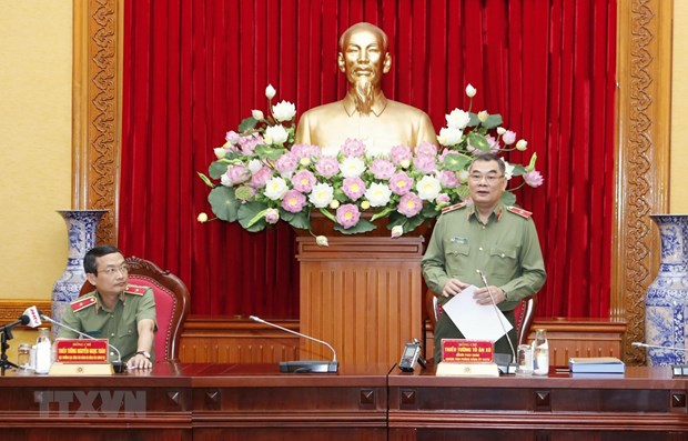 7th Congress of Central Public Security Party Organisation on horizon hinh anh 1