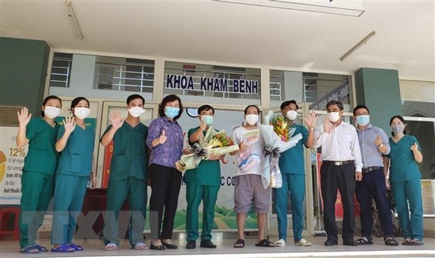 No new COVID-19 cases in community on October 9 morning hinh anh 1