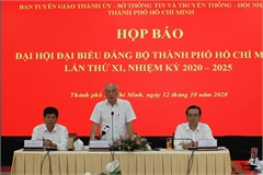 HCM City's 11th Party Congress to officially open on Oct 15 morning