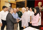 Top leader meets Hanoi voters ahead of NA's 10th session