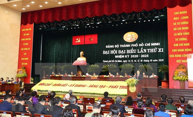 11th Congress of Ho Chi Minh City Party Organisation opens hinh anh 1