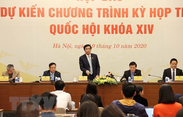 Parliament to kick off 10th session on October 20 hinh anh 1