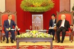 Vietnam considers Japan a leading, long-term partner: top leader