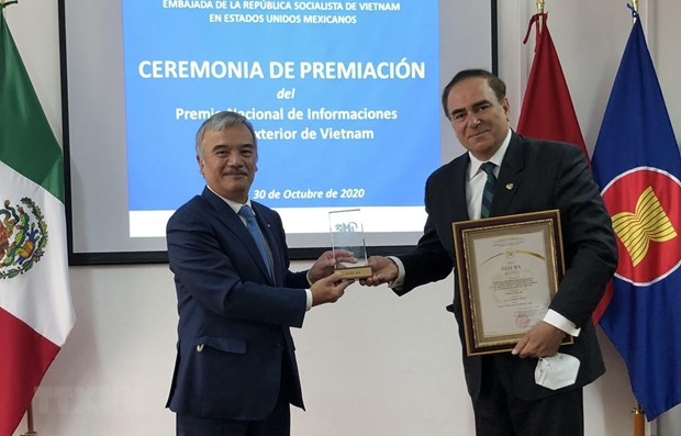 Prizes of National External Information Service Awards granted to Mexicans hinh anh 1
