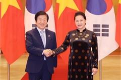 Vietnam-RoK NA leaders meet in Hanoi
