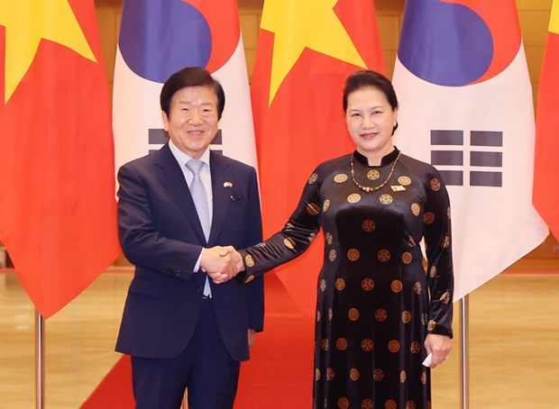 NA leaders voice readiness to augment Vietnam-RoK relations hinh anh 1