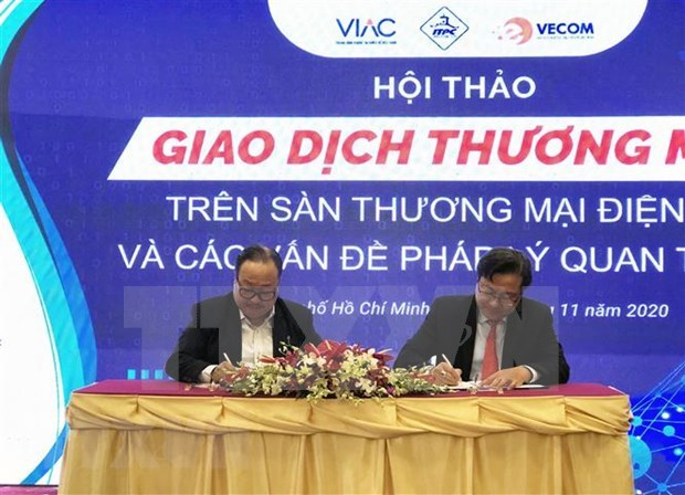 Daily visits to local e-commerce sites top 3.5 million: VECOM hinh anh 1