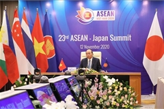 23rd ASEAN-Japan Summit held online