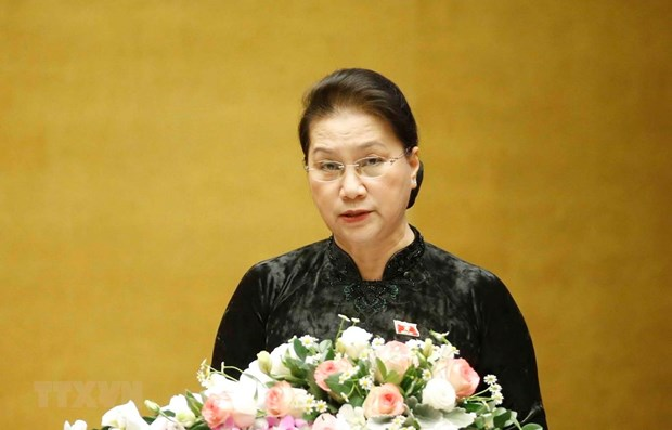 National Assembly's 10th session concludes hinh anh 1