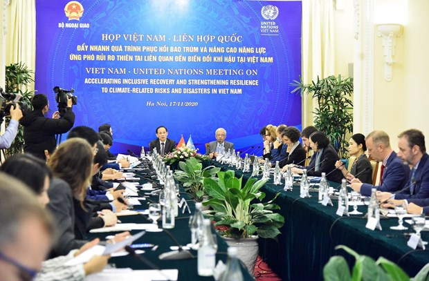 UN pledges more support to Vietnam in climate change response hinh anh 1