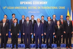 ASEAN ministers gather to discuss transnational crime fight