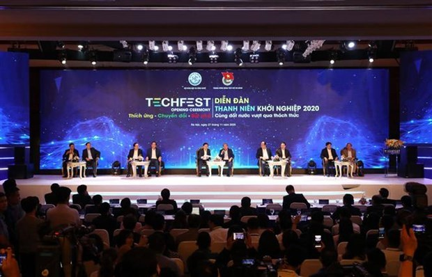 14 million USD worth of investment pledged in Techfest 2020 hinh anh 1
