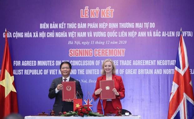 UKVFTA ushers in new opportunities for Vietnam-UK trade hinh anh 1