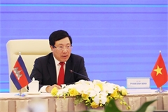 Vietnam, Cambodia work to further promote comprehensive cooperation